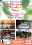 ACCOMMODATION VOUCHER – Entire Camp (Full private & Standard camp)18 people